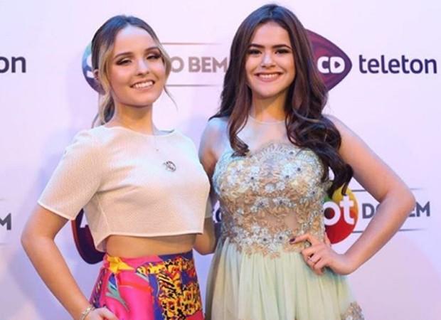 Larissa Manoela e Maísa Silva (Foto  Reprodução Instagram) 30e1d90c86