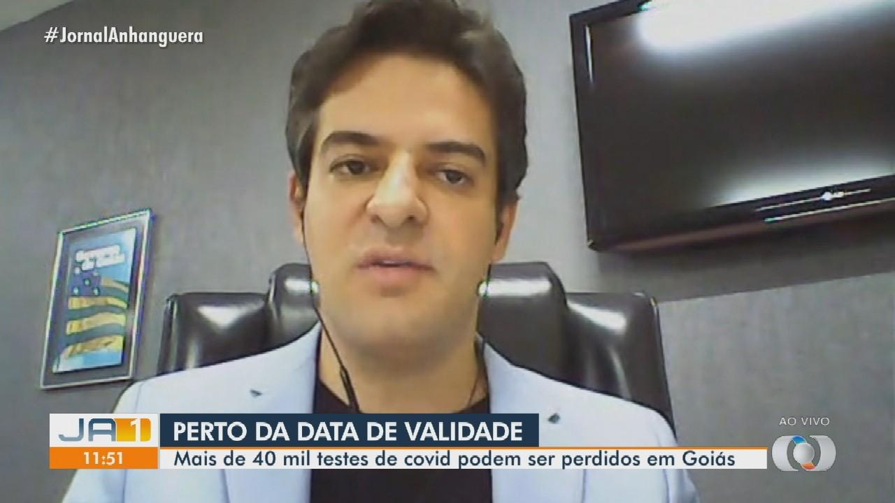 Goiás tem mais de 40 mil testes de Covid-19 com vencimento até dezembro
