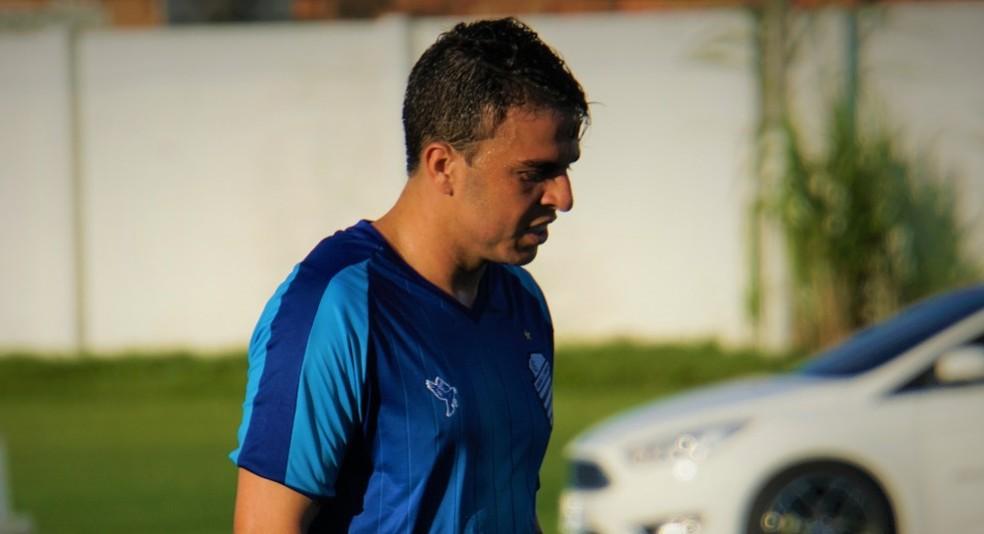 Andrigo vai desfalcar o CSA contra o Brasil de Pelotas — Foto: Matheus Pimenta/ASCOM CSA