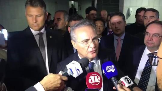 Renan Calheiros explica por que decidiu retirar sua candidatura à Presidência do Senado