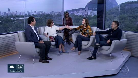 Rosamaria Murtinho e Kiara Sasso estão no elenco de 'Isaura Garcia, O Musical'