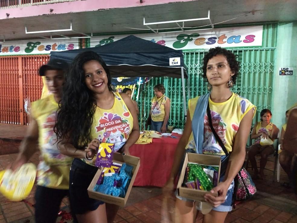 Em dois dias, Saúde faz 200 testes rápidos durante carnaval em Rio Branco — Foto: Aline Nascimento/G1