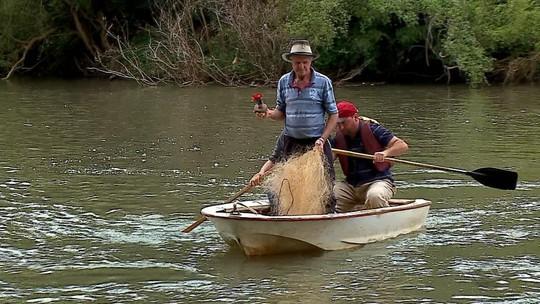 Pescadores encontram imagem de Nossa Senhora Aparecida no rio, em São Domingos do Sul