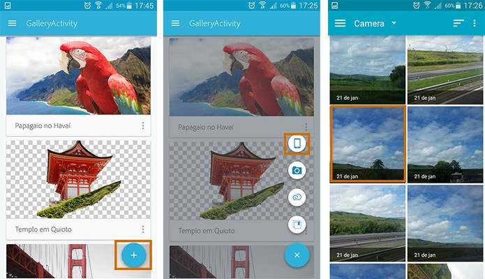 Inicie um novo projeto de imagem no Photoshop Mix (Foto: Reprodução/Barbara Mannara) (Foto: Inicie um novo projeto de imagem no Photoshop Mix (Foto: Reprodução/Barbara Mannara))