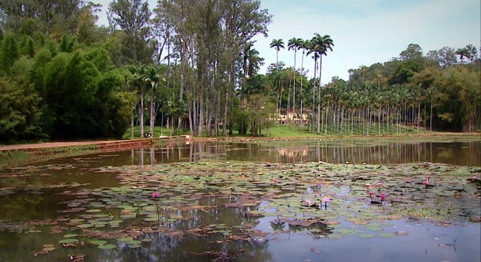 Lago Azul em Rio Claro (SP) abrirá no feriado do Dia da Consciência Negra. (Foto: Ronaldo Oliveira/ EPTV)