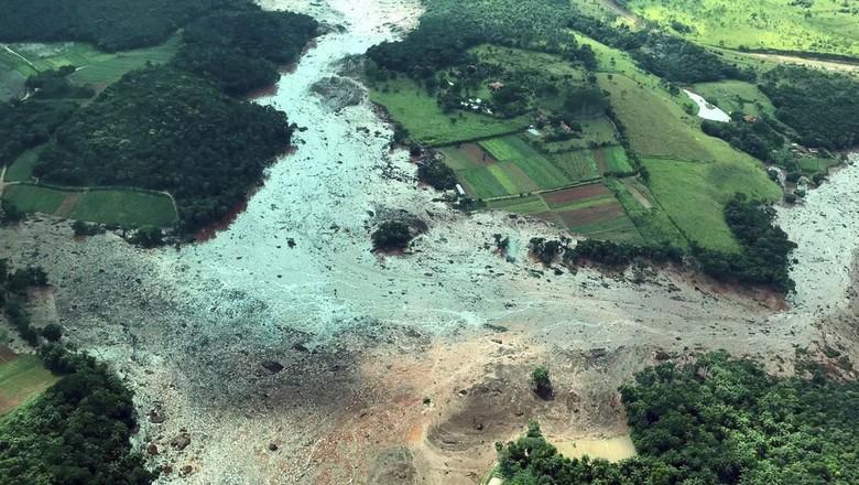 brumadinho-lama-vale-aérea (Foto: Presidência da República)