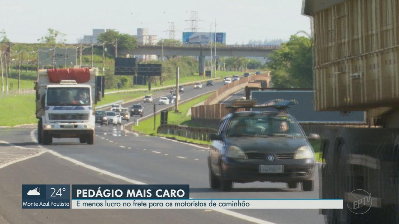 Preço de praças de pedágios aumenta na região de Ribeirão Preto