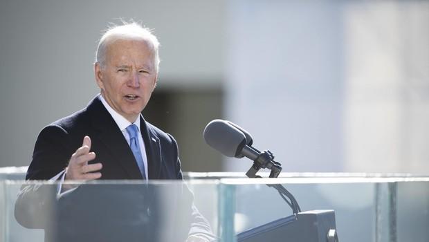 O presidente dos Estados Unidos, Joe Biden (Foto: DOD - Foto por suboficial da Marinha de 1ª classe Carlos M. Vazquez II)