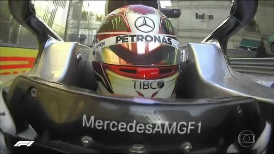 Carros da Mercedes vão largar na frente no GP do Azerbaijão de Fórmula 1