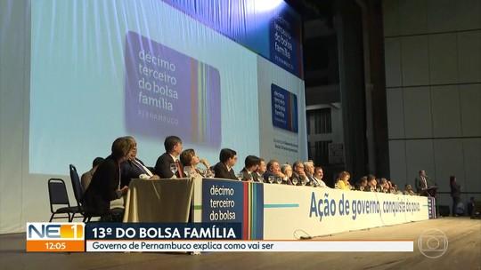 Governo lança programa de pagamento de 13º salário para beneficiários do Bolsa Família