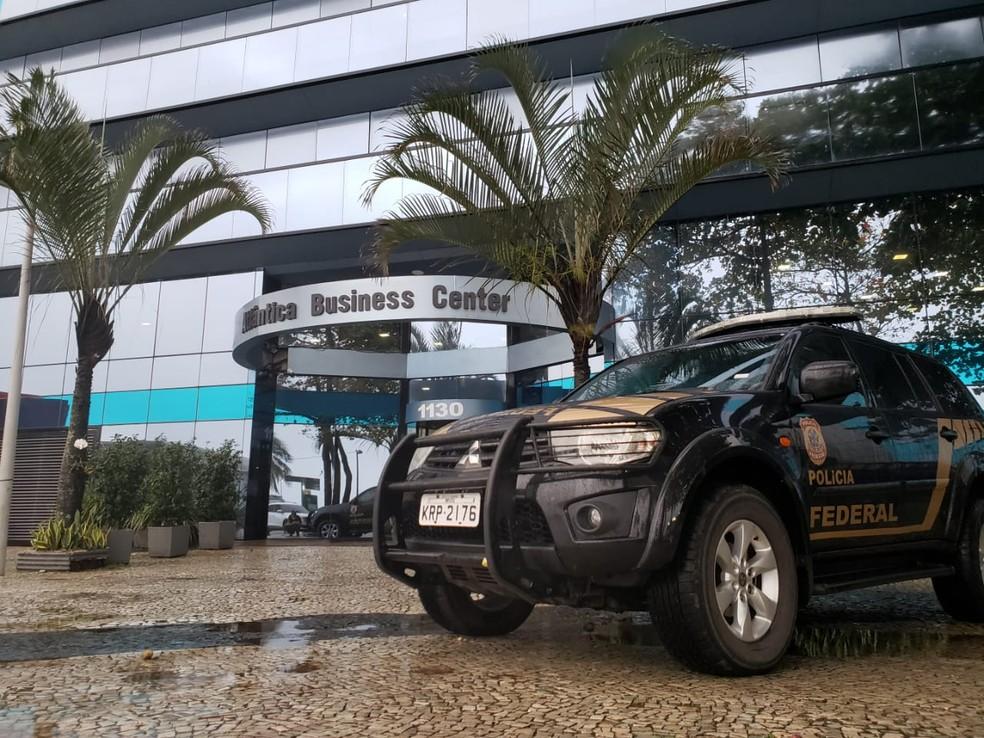 Mandado de busca é cumprido no Rio de Janeiro através da operação Fundo Fake — Foto: PF/Divulgação