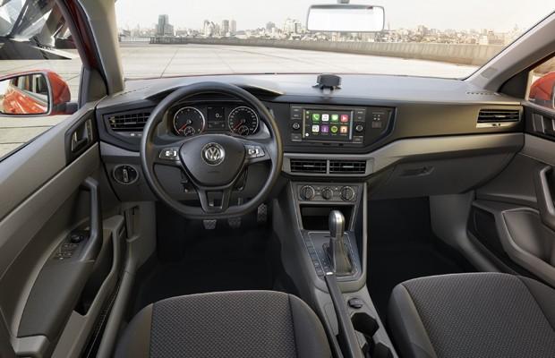 Volkswagen Polo 2019 com motor 1.6 MSI com câmbio automática (Foto: Divulgação)