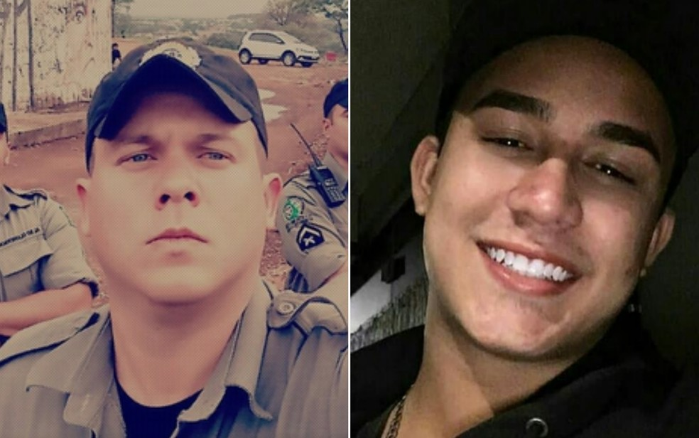 Flávio Faria de Oliveira se matou após morte de Matheus Oliveira Castro, em Goiânia — Foto: Reprodução/TV Anhanguera