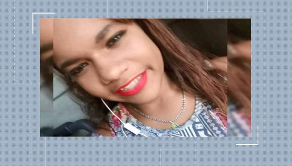 O corpo de Estéfany Eduarda Nere foi encontrado em terreno em Petrolina — Foto: Reprodução/ TV Grande Rio