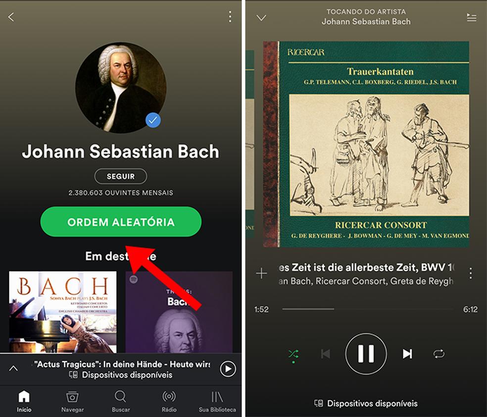 Toque uma música no Spotify ou outro app similar (Foto: Reprodução/Paulo Alves)