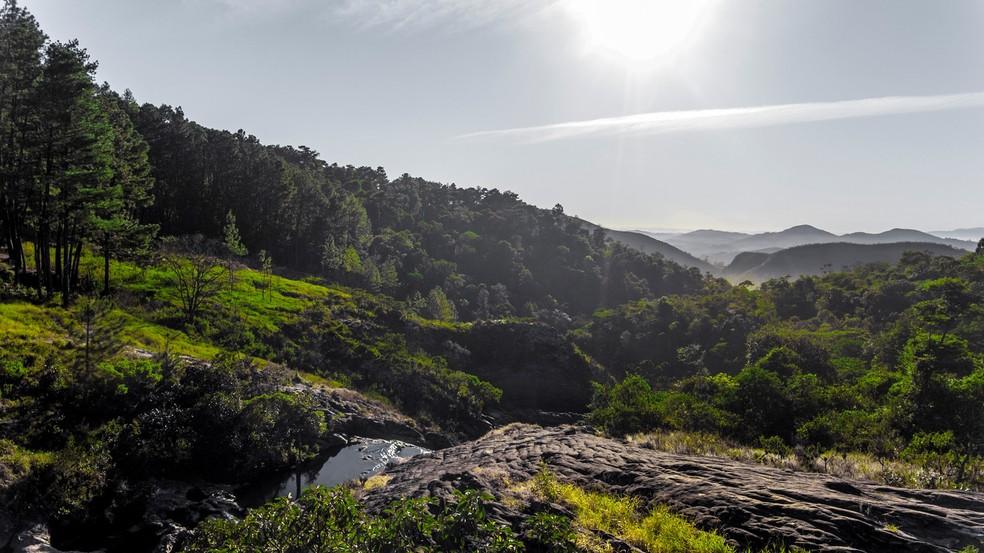 Barão de Cocais é conhecida pelas riquezas naturais — Foto: Prafeitura de Barão de Cocais/Divulgação