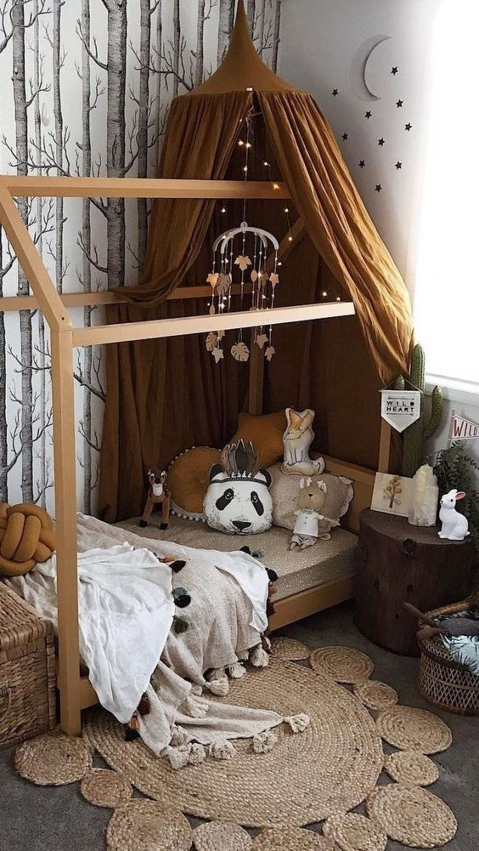 Cama com casinha: 10 ideias para você se inspirar (Foto: reprodução/ Pinterest)