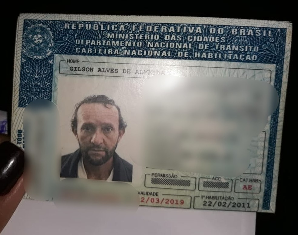 O suspeito, Gilson Alves de Almeida, de 45 anos, não foi localizado (Foto: DHPP Rondonópolis)