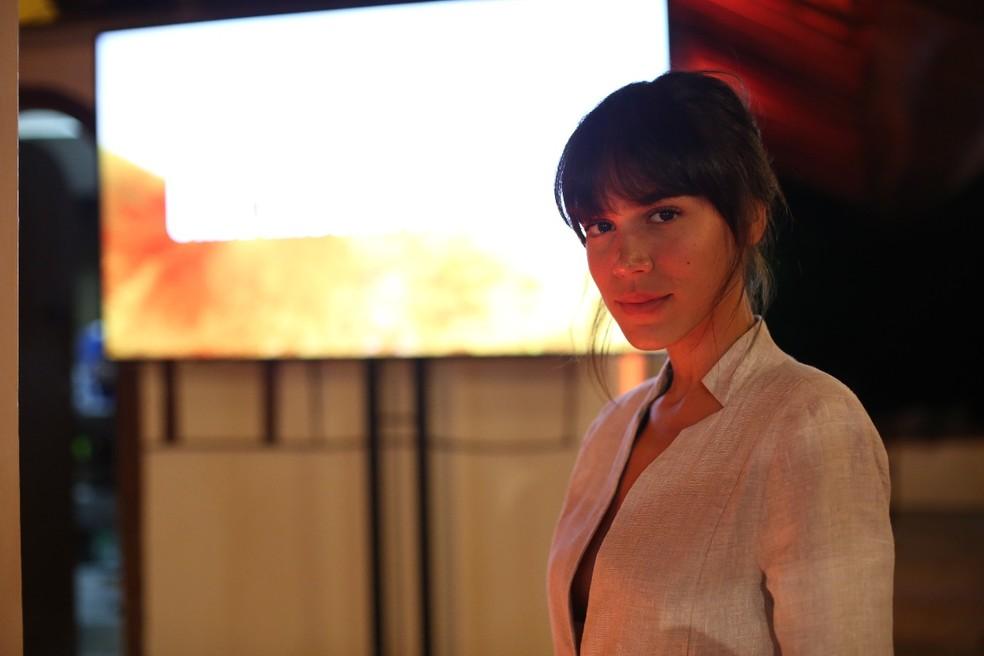 Carla Salle também estará em 'Onde Nascem Os Fortes' como Valquíria (Foto: Gabriel Nascimento/Gshow)