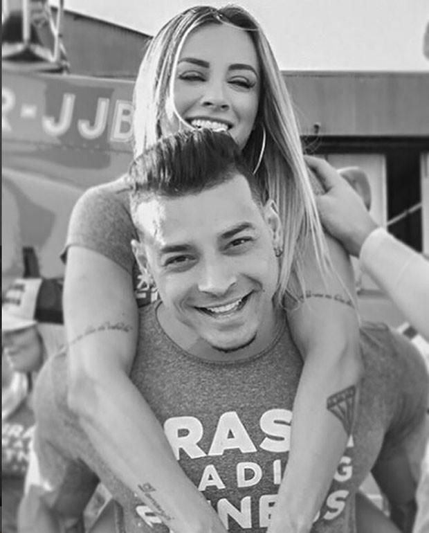 Juju Salimeni e Felipe Franco (Foto: Reprodução Instagram)