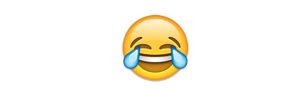 Emoji com lágrimas de alegria ou para expressar uma risada mais intensa — Foto: Reprodução/TechTudo