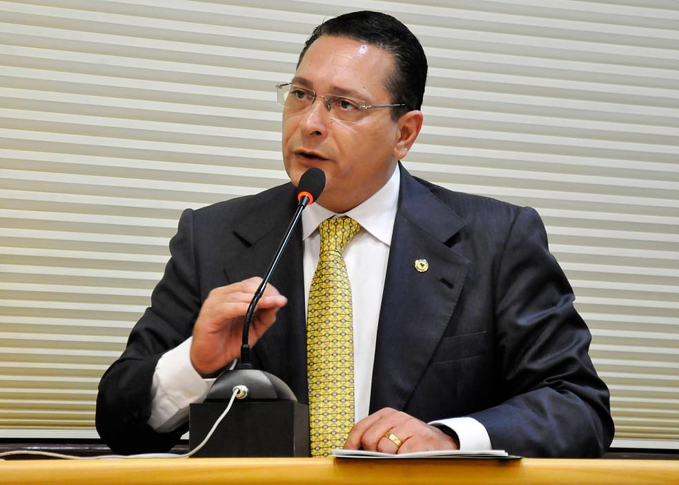 Ezequiel Ferreira, presidente da Assembleia Legislativa do Rio Grande do Norte — Foto: João Gilberto/ALRN