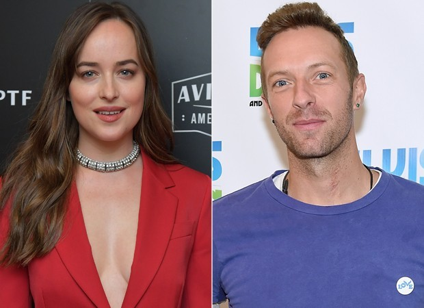 Chris Martin e Dakota Johnson (Foto: Getty Images)