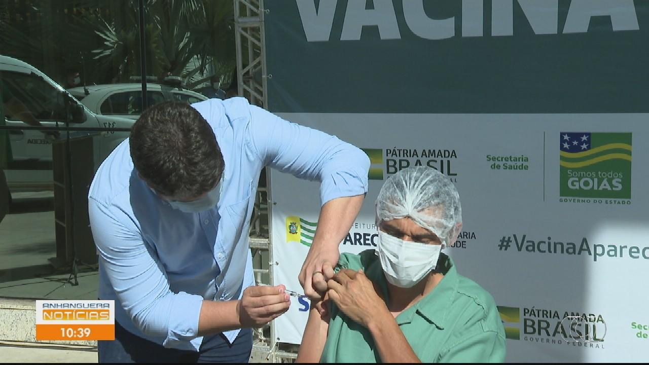 Acompanhe vacinação contra Covid-19 em Goiás