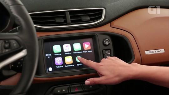 VÍDEO: G1 avalia centrais multimídia de carros novos entre R$ 50 mil e R$ 100 mil