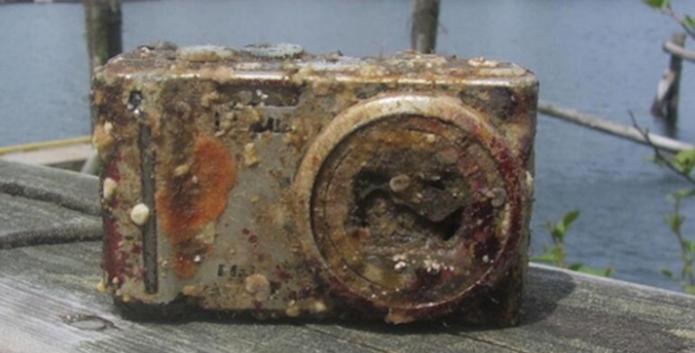 Câmera perdida no mar é encontrada 2 anos depois com as fotos intactas (Foto: Reprodução/Penta Pixel) (Foto: Câmera perdida no mar é encontrada 2 anos depois com as fotos intactas (Foto: Reprodução/Penta Pixel))