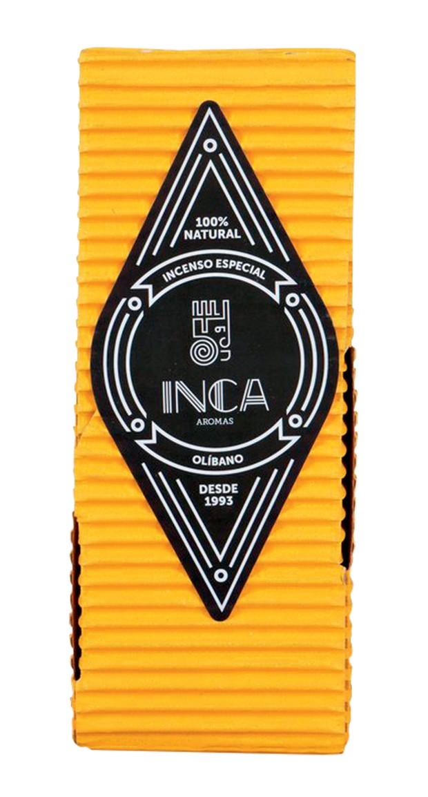 Incenso Olíbano cítrico, R$ 20, Inca Aromas (Foto: .)