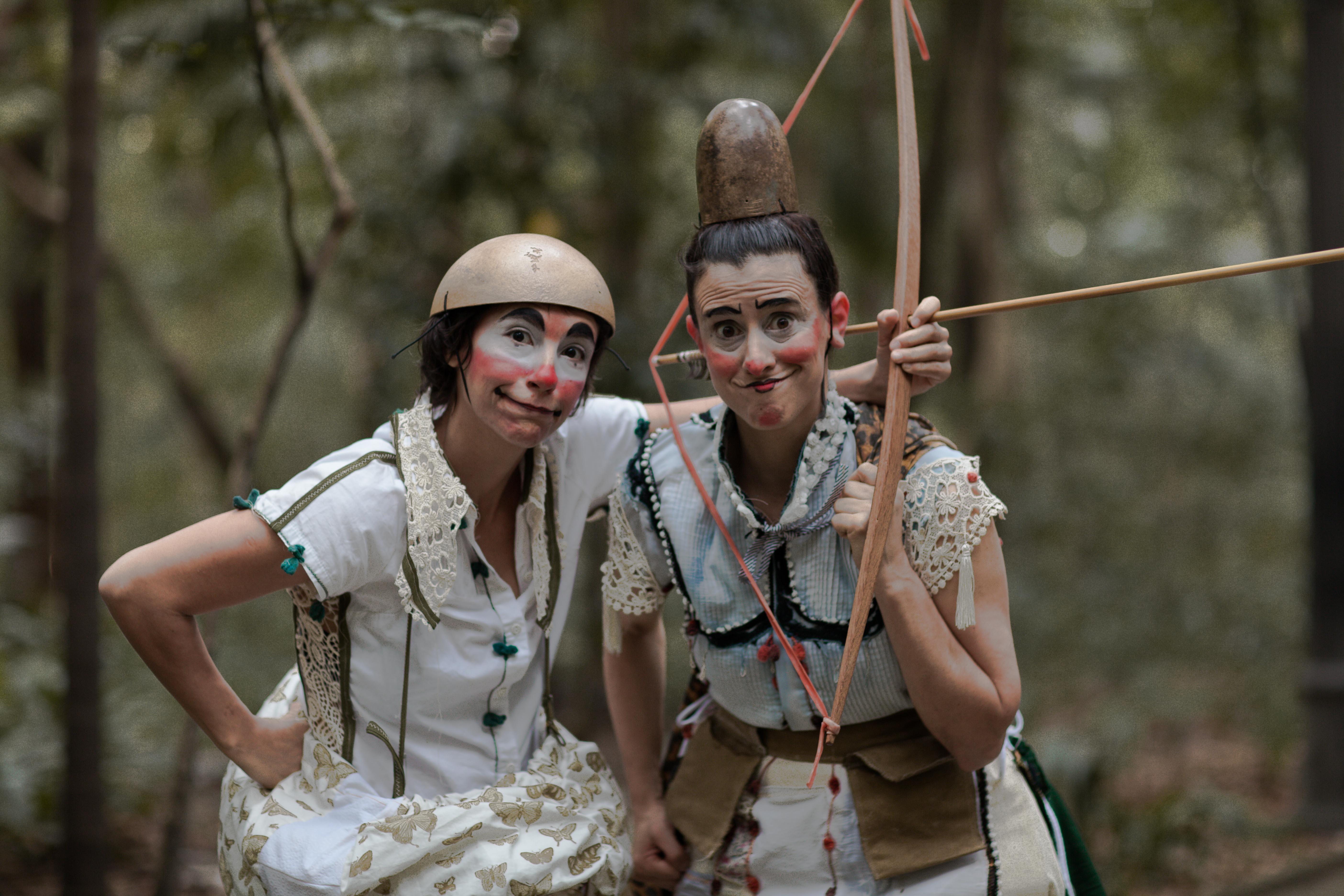 Grupo artístico realiza oficina e espetáculo de palhaçaria em duas cidades de RO