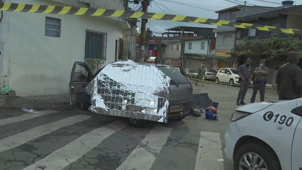 Perseguição policial após suposta troca de tiros deixa um morto na Zona Norte de SP — Foto: Reprodução/TV Globo