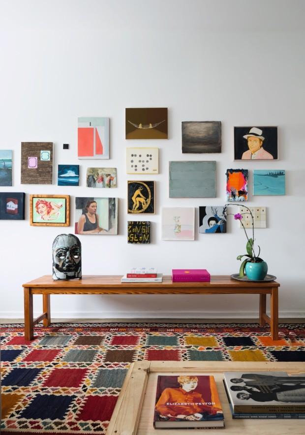 Colecionador transforma sua casa em um espaço para se viver a arte (Foto: Filippo Bamberghi)