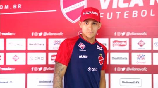 Meia é apresentado e destaca oportunidade de jogar no Vila Nova