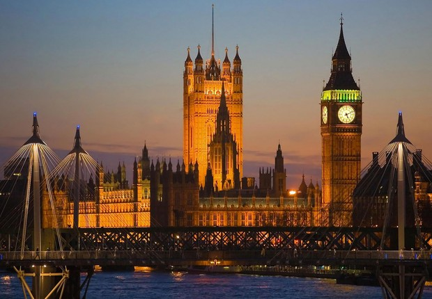 Big Ben e o Parlamento de Londres (Foto: Shutterstock)