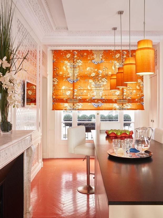 Ir Ao Banheiro Em Frances : Cores ousadas brilham neste apartamento casa vogue