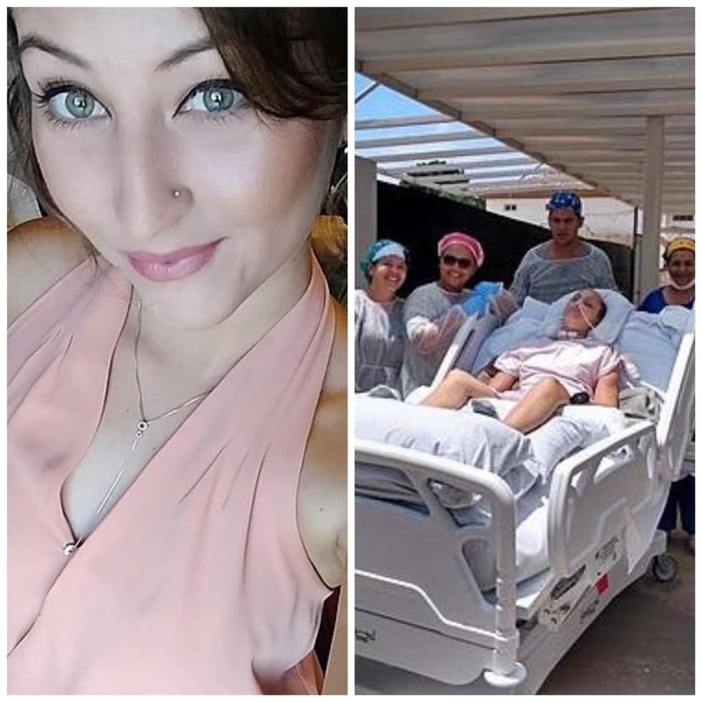 Mulher foi vítima de acidente de trânsito na MT-130, em novembro de 2019 — Foto: Arquivo pessoal