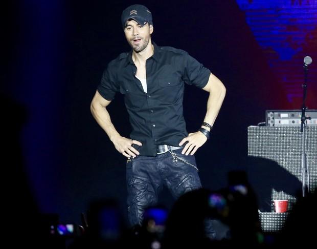 Enrique Iglesias faz show em São Paulo (Foto: Manuela Scarpa/Brazil News)