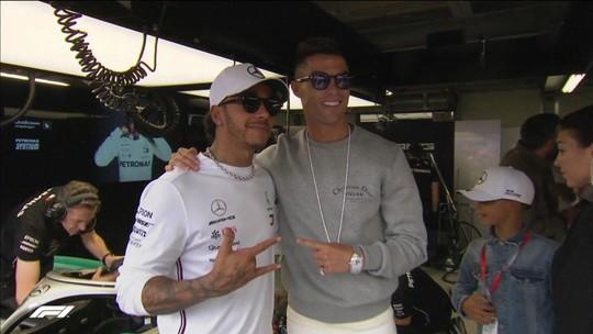 Homenagens a Niki Lauda e visita de CR7 marcam o treino da F1 em Mônaco