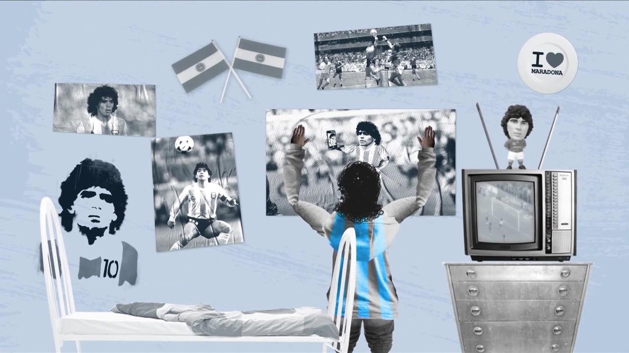Primeiro influenciador da história? Esporte Espetacular aborda os 60 anos de Maradona