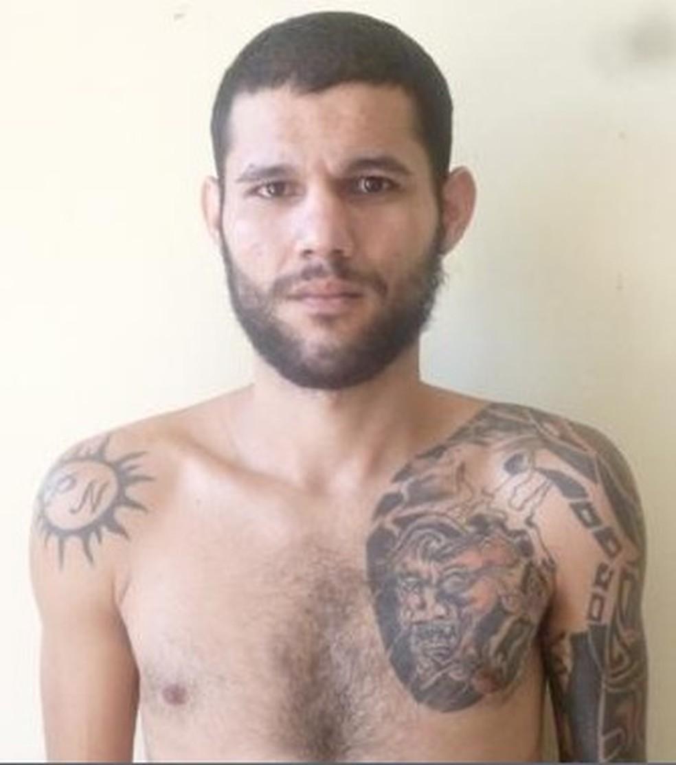 -  No Pará, o alvo da operação é o presidiário Philippe Martins Barros.  Foto: Reprodução/Polícia Civil do Pará