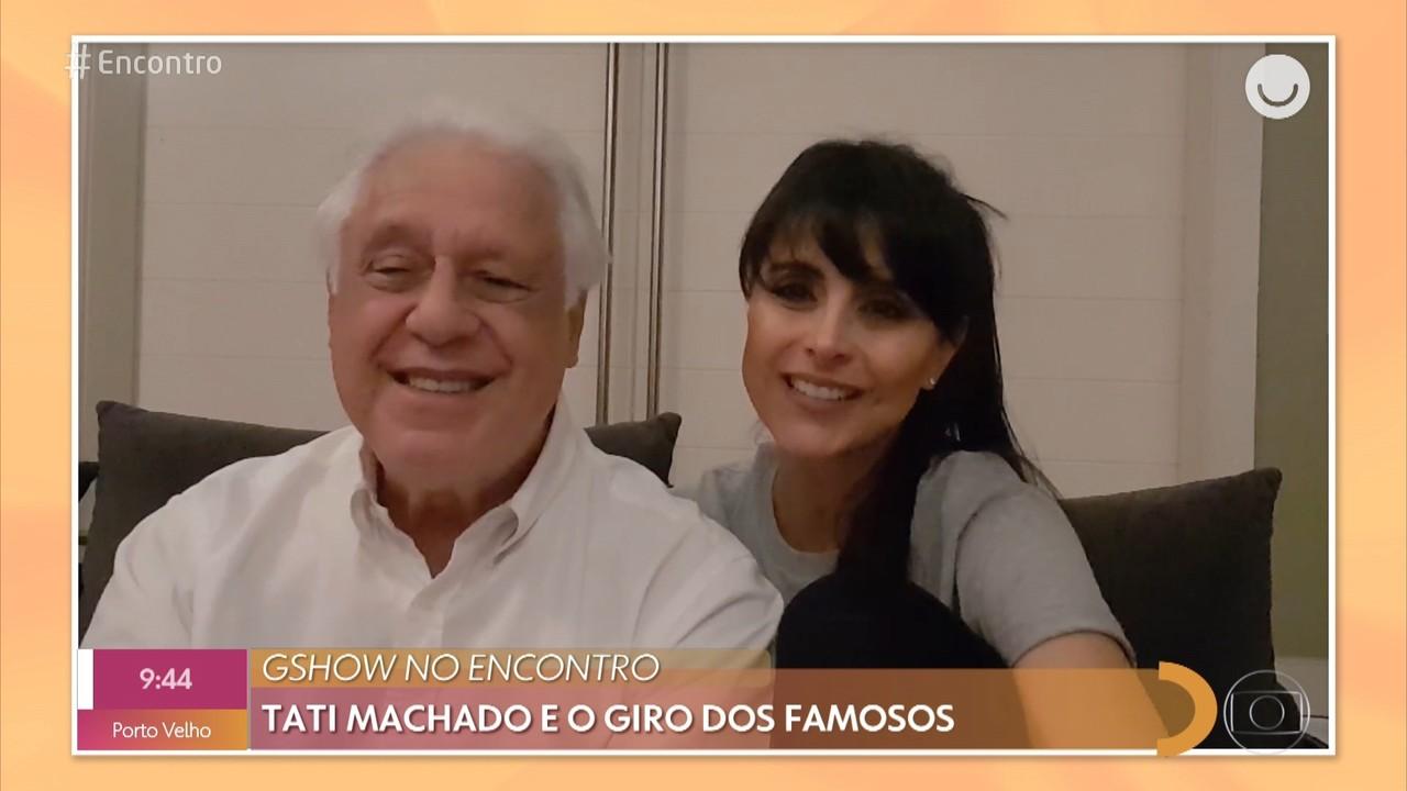 Antonio Fagundes e Alexandra Martins contam o que mudou na relação durante a quarentena