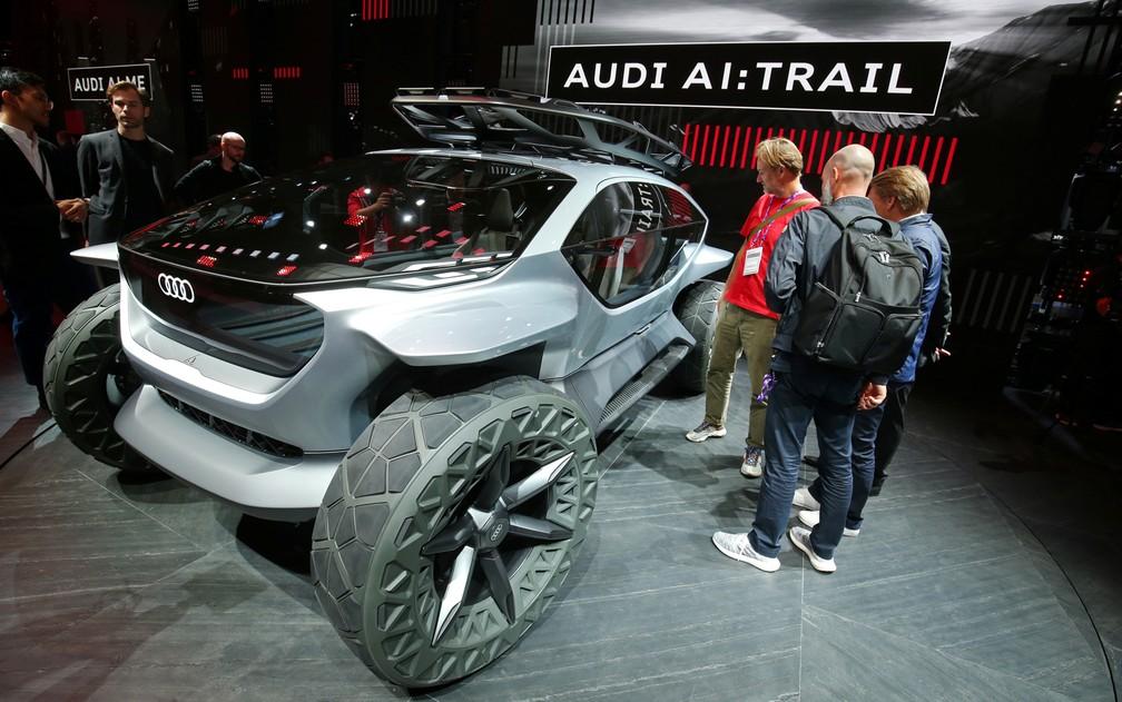 Audi AI Trail — Foto: Ralph Orlowski/Reuters