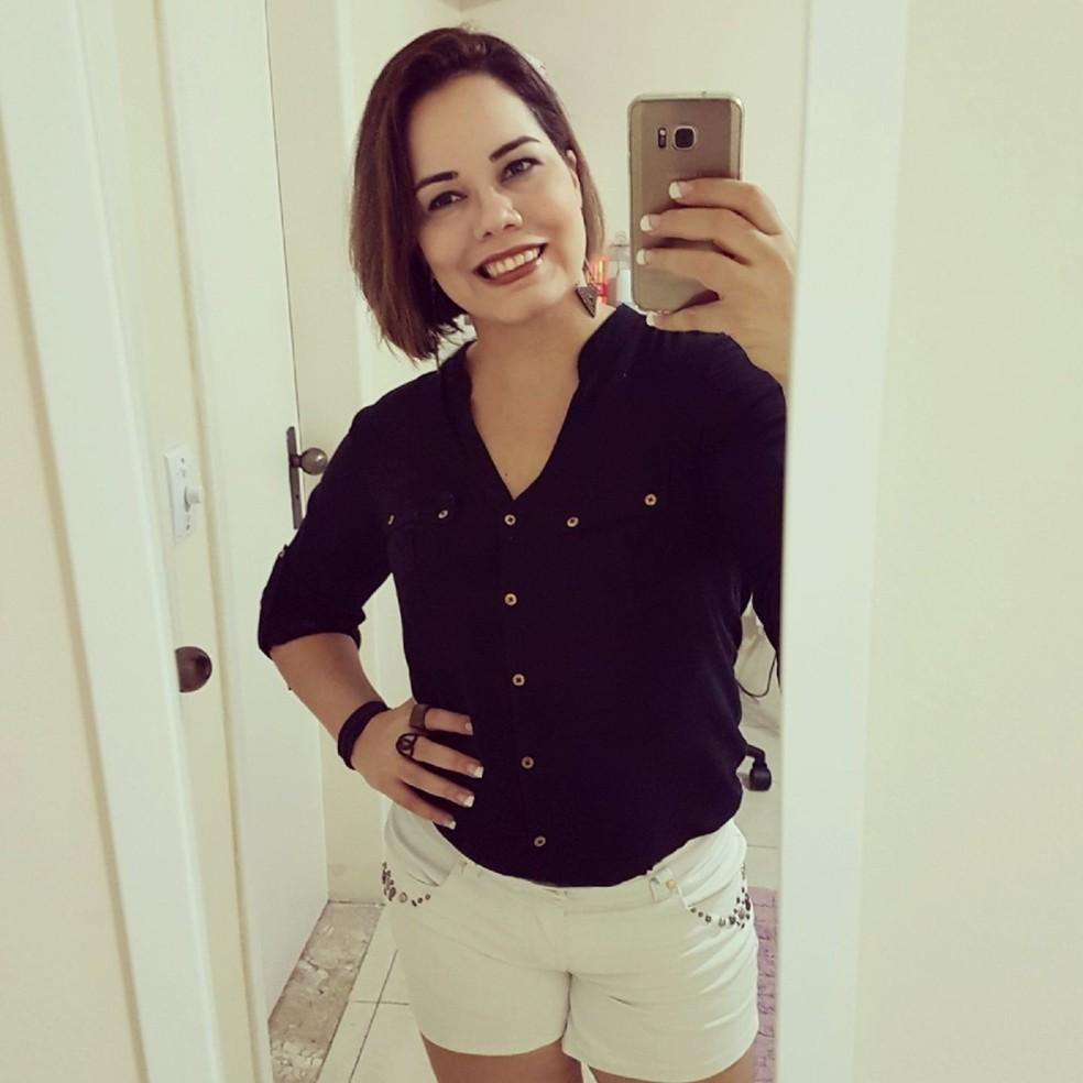 Lia Maria Abreu de Souza, 1ª sargento da Aeronáutica, estava no Globocop e faleceu durante o resgate (Foto: Reprodução/Facebook)