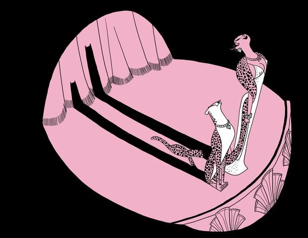 Quadrinho de Helô D'Angelo no livro Ousadas, Mulheres que Só Fazem o que Querem (Foto: Divulgação)