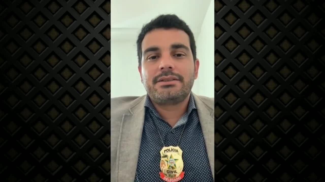 Delegado Hugo Leonardo dá detalhes sobre caso de mãe que matou e arrancou órgãos de filha