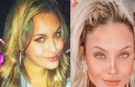 Sarah mudou o tom dos cabelos Reprodução