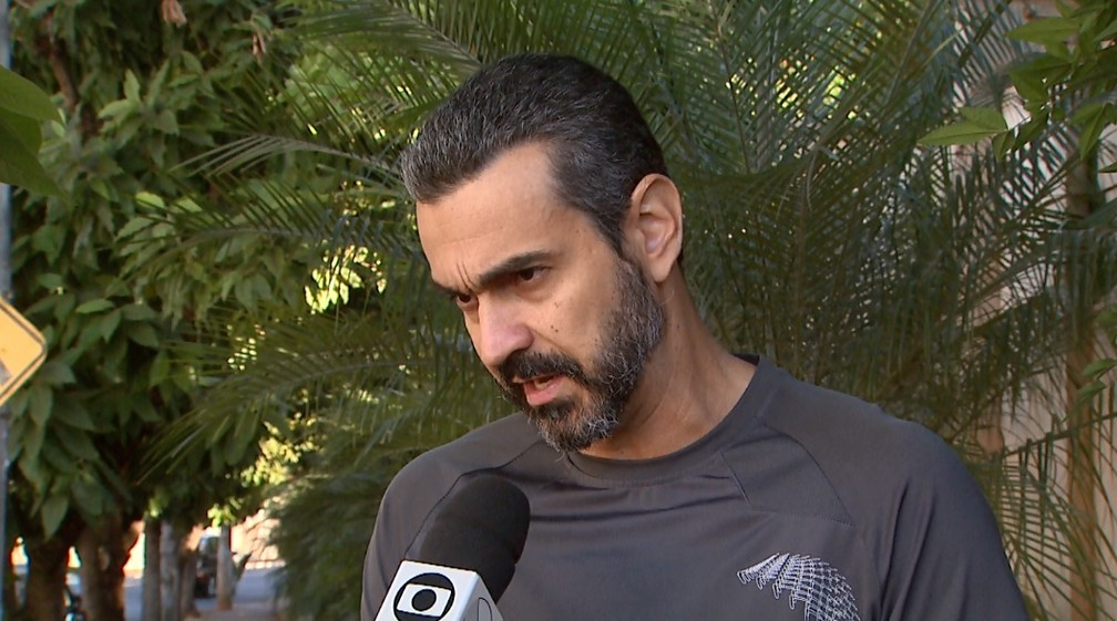 O educador José Eduardo de Oliveira  — Foto: Ronaldo Gomes/EPTV