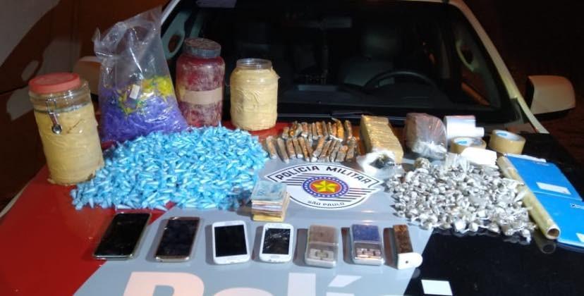 Adolescente é detido com drogas em Ubatuba